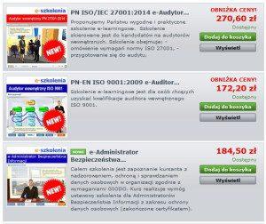 zobacz nasze e-learningowe szkolenia ISO
