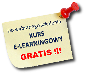 Do wybranego szkolenia kurs e-learningowy gratis