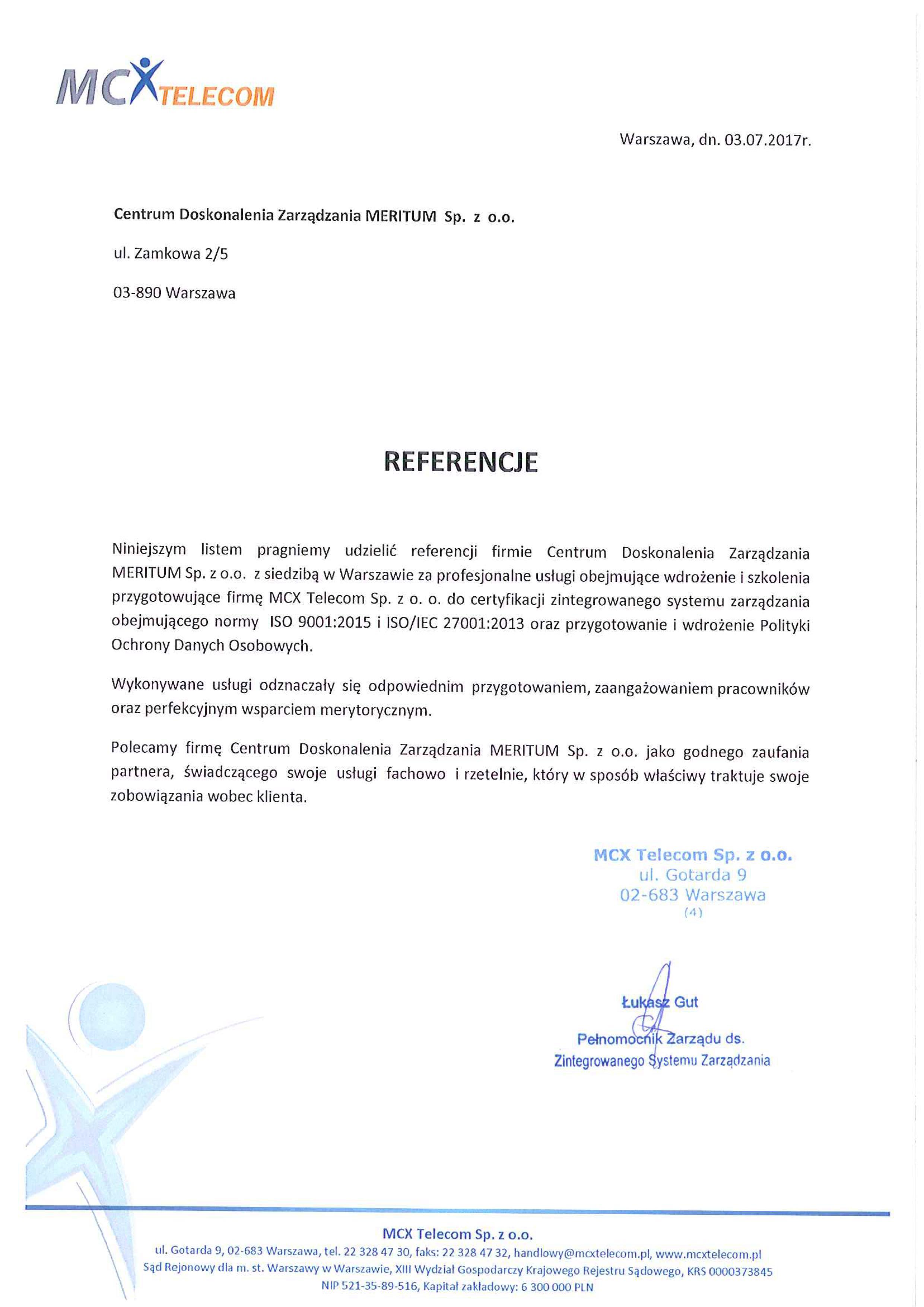 MCX Telecom