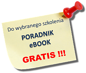 Do wybranego szkolenia ebook gratis!