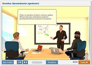 scenka szkolenia e-learningowego