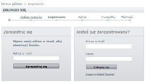 Ekran logowania do sklepu e-doskonalenie.pl