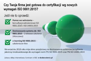 Dostosowanie do ISO 9001:2015